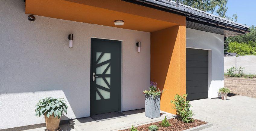 Puerta de seguridad INN.DOOR Ecofeel, eficiencia energética